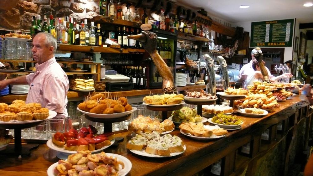 Bar- food tour