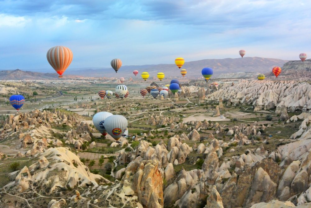 Balloon in turkey